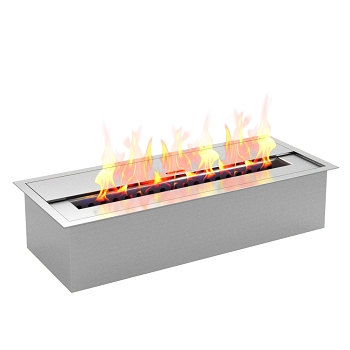 Regal Flame PRO 12 Inch Bio Ethanol Fireplace Burner Insert - 1.5 Liter