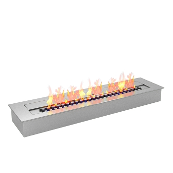 Regal Flame PRO 24 Inch Bio Ethanol Fireplace Burner Insert - 4.8 Liter