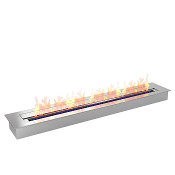 Regal Flame PRO 36 Inch Bio Ethanol Fireplace Burner Insert - 7.4 Liter