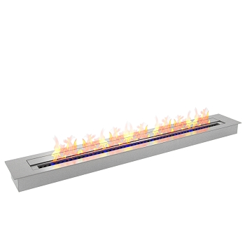 Regal Flame PRO 47 Inch Bio Ethanol Fireplace Burner Insert - 9.9 Liter
