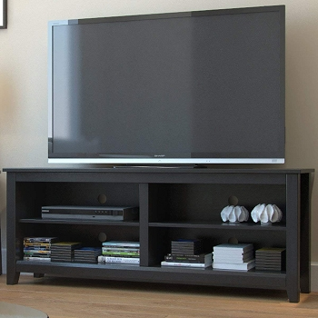 Ryan Rove Mission 58 Inch Wood TV Console in Black